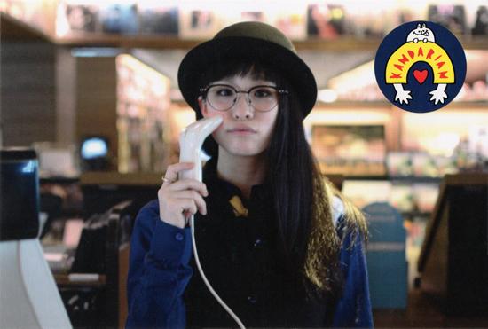 神田莉緒香「Wonderful World」代官山蔦屋書店での購入特典ポストカード
