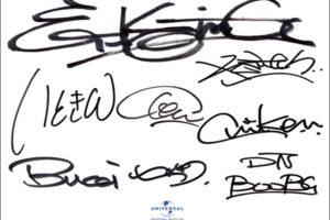 ET-KING (イーティー・キング)直筆サイン入り色紙 (UNIVERSAL MUSIC公式色紙)